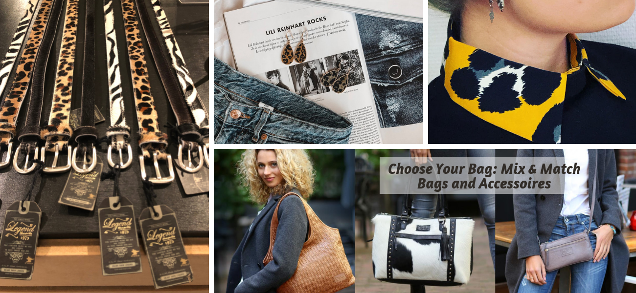 Choose Your Bag: Mix & Match Bags en Accessoires