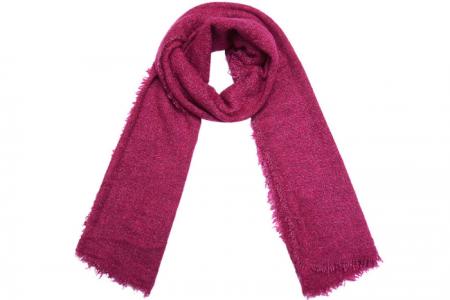 effen rode sjaal