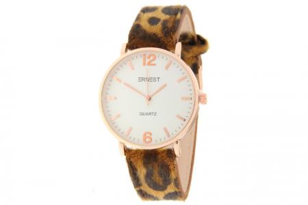 ernest camel leopard horloge