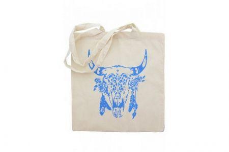 Canvas Shopper Buffalo Blauw