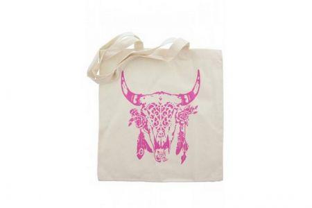 Canvas Shopper Buffalo Roze