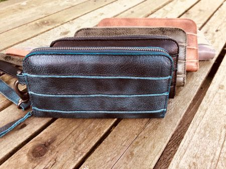 Bag2Bag Jackson Wallet Blauw