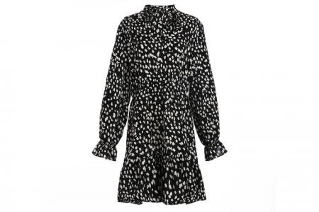 jurk met cheetahprint