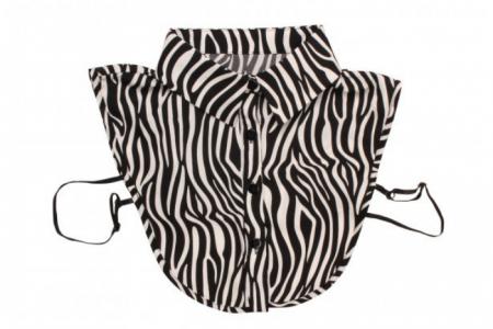 Kraagje Zebra Look