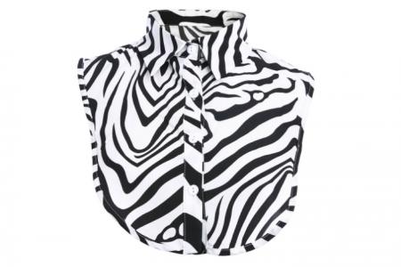 kraagje zebraprint