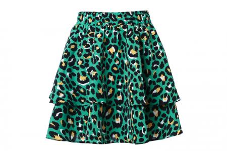 Rokje Leopard Groen Maat M