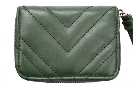 klein groen portemonneetje