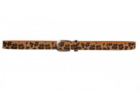 riem met leopardprint