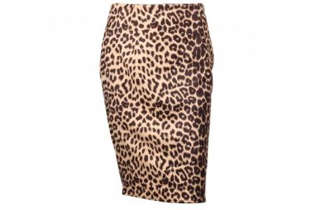 Rok Leopard Beige XL
