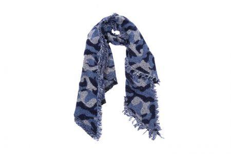 Sjaal Winter Army Blauw | Weekdeal