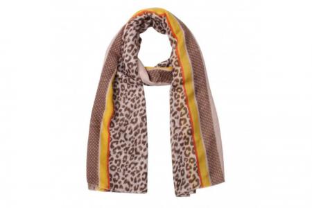 sjaal leopard borders