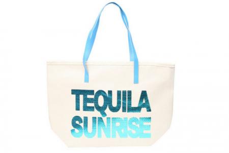 Strandtas Tequila Blauw | Weekdeal
