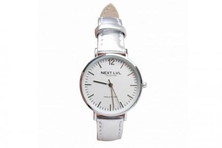 next lvl horloge silver