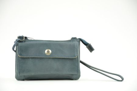 bag2bag albury clutch blue
