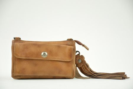bag2bag albury clutch cognac