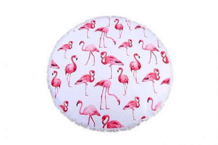 flamingo beach roundie