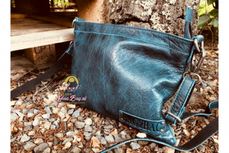 Bag2Bag Darwin Clutch / Schoudertasje Blue
