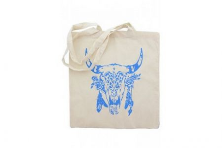Canvas Shopper Buffalo Blauw