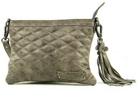 bag2bag memphis clutch grey