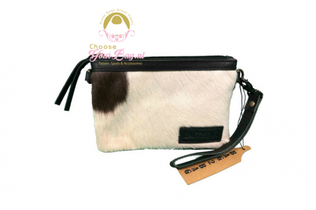 bag2bag calgary clutch zwart