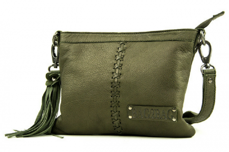 BAG2BAG Seatle Clutch Green | Koopjeshoek