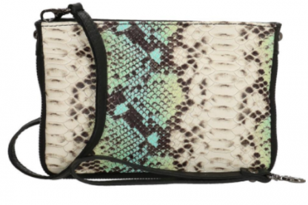 slangenprint clutch